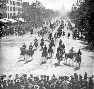 Grand Review of the Armies, Pennsylvania Ave., Washington, D.C., by Matthew Brady