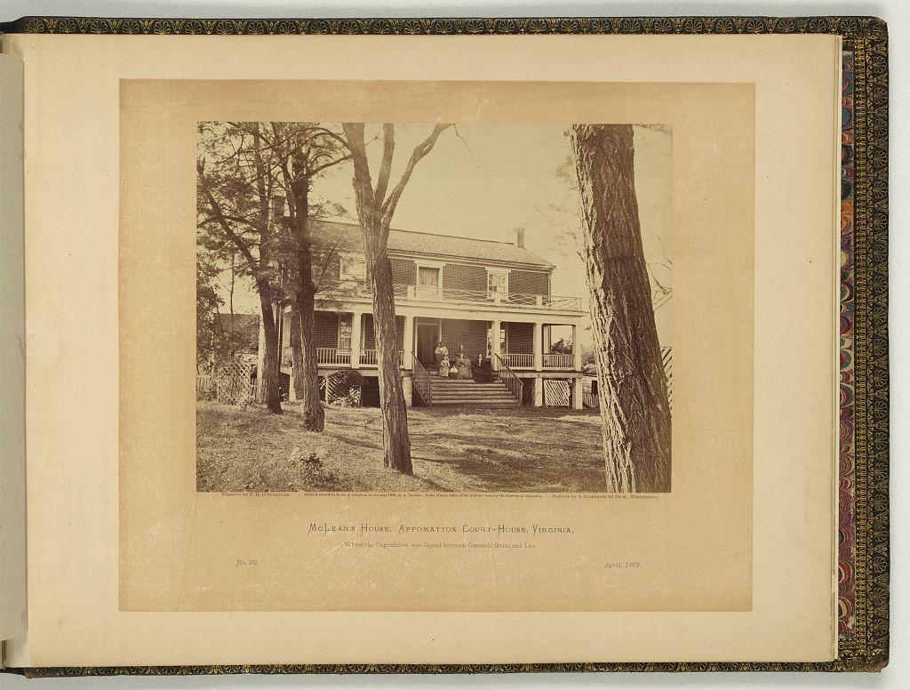 Alexander Gardner photo, part of his photographic sketchbook, at LOC (E468.7 .G2 (Case Y) [P&P] Copy 1)