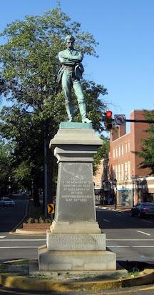 Appomattox Statue, present day