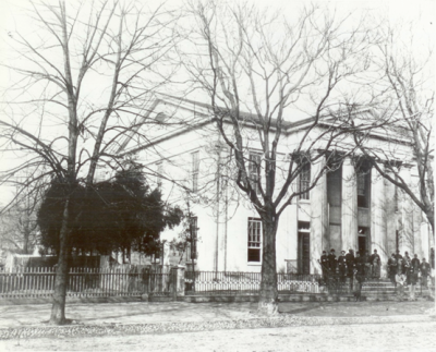 The Lyceum during the Civil War. Photo from City of Alexandria .