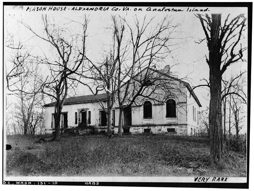 Photo taken in the 1930s as part of the Historic American Buildings Survey. No vestiges remain; the CCC was very thorough. From Library of Congress.
