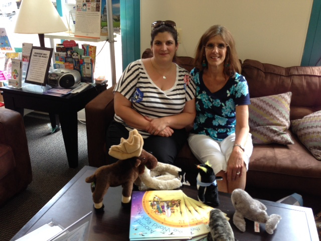 Bryony Williams Shepphard and Gina Cascone at Hooray for Books in Alexandria