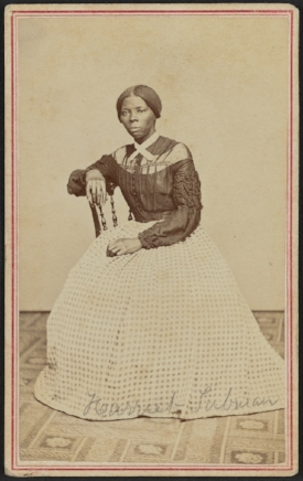 Harriet Tubman (Howland's handwritten id on the skirt), circa 1860s. Library of Congress: hdl.loc.gov/loc.pnp/ppmsca.54230.
