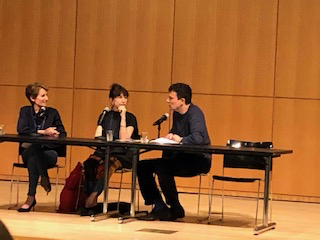 Stacy Schiff and Judith Thurman talked with New Yorker Editor David Remnick to open the BIO conference.