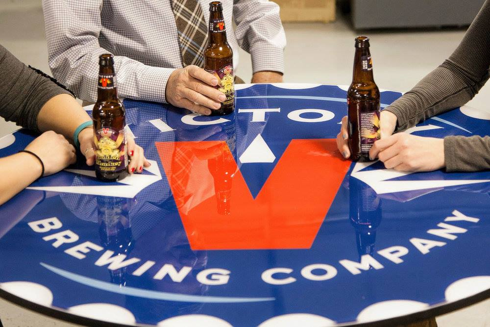 Victory Beer Signage and Display Advertising -