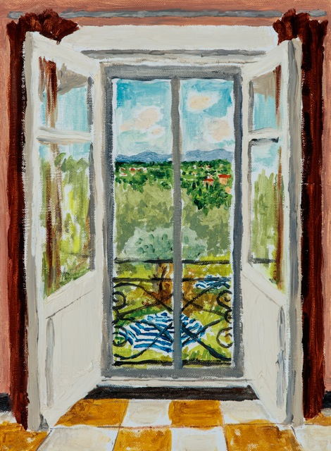 Bedroom Window, Provence (SOLD)