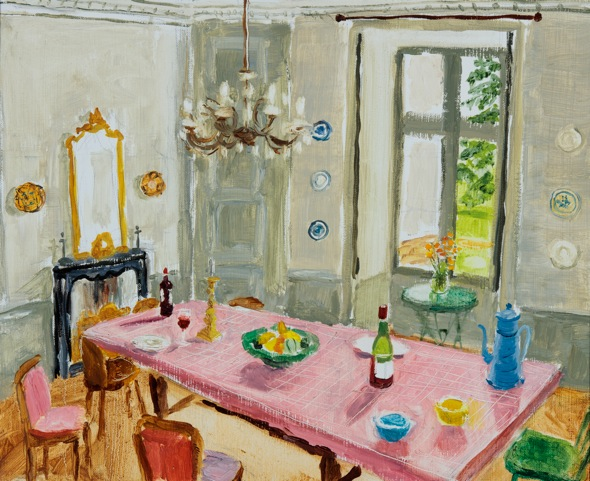 Dining Room, Chamballan I (SOLD)