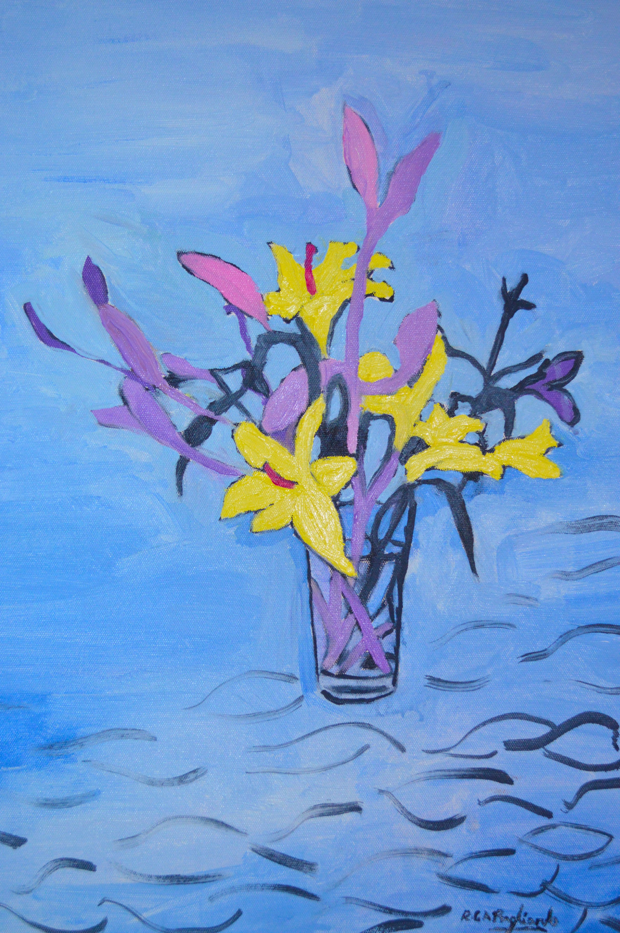 4. Yellow and Purple Lilies.jpg