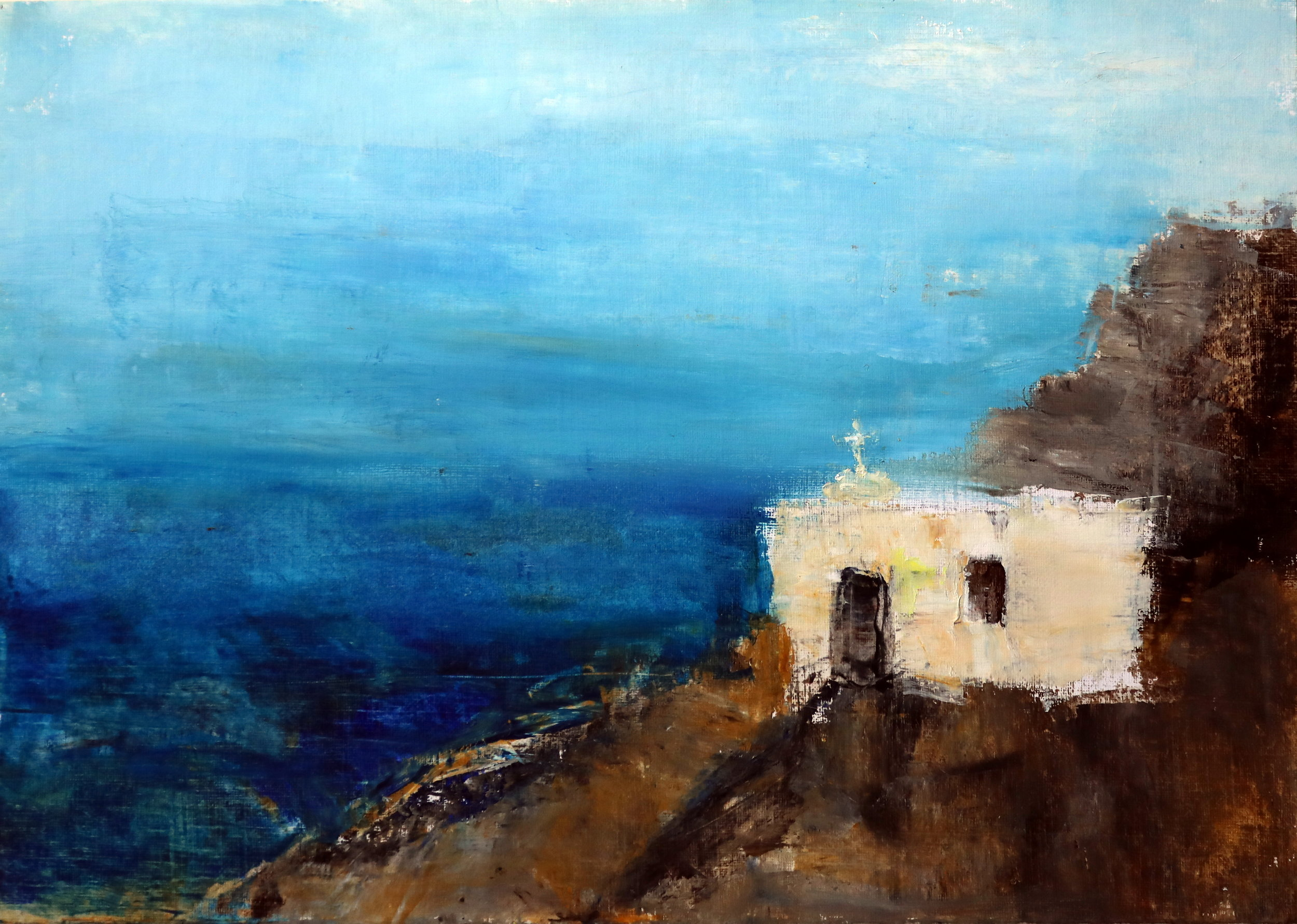 Small Church, Folegandros