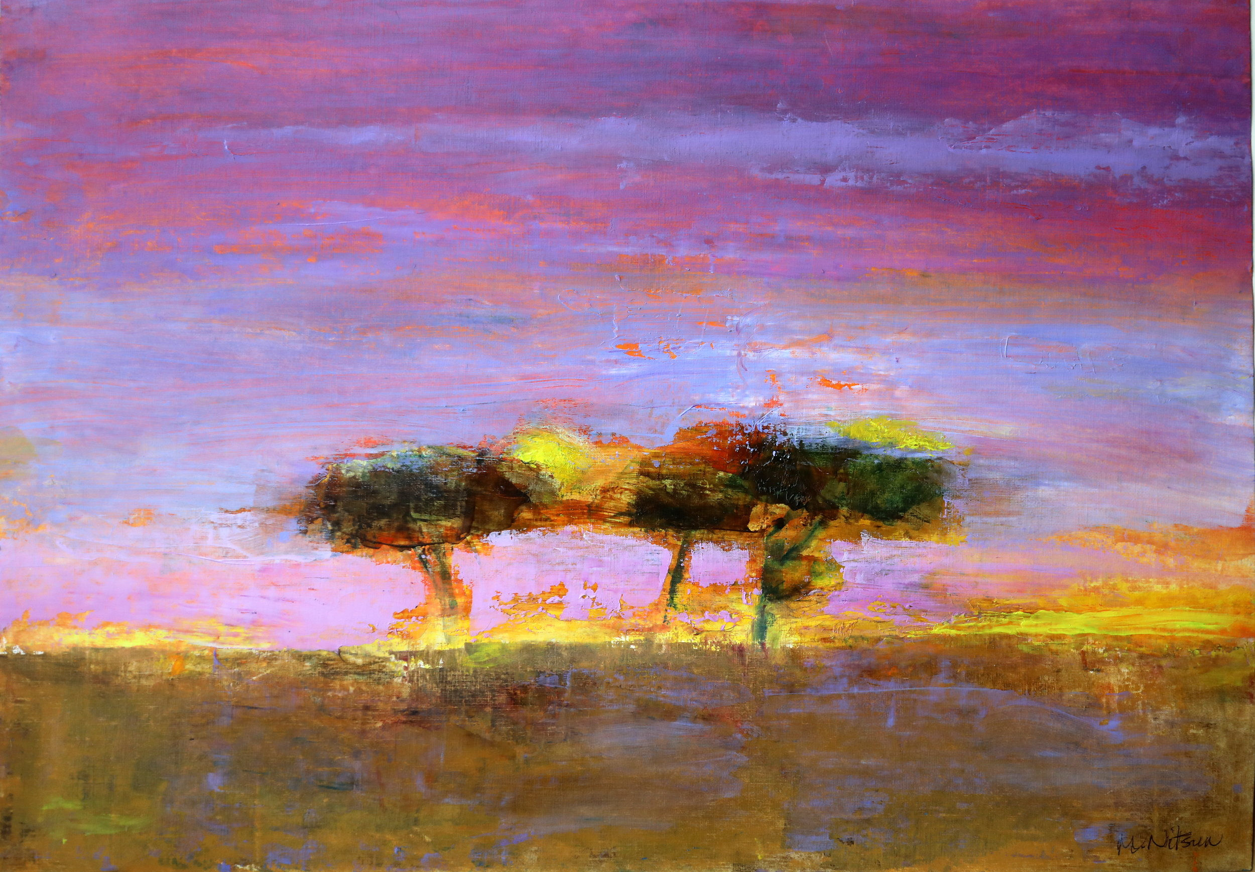 Sunset, Masai Mara (sold)