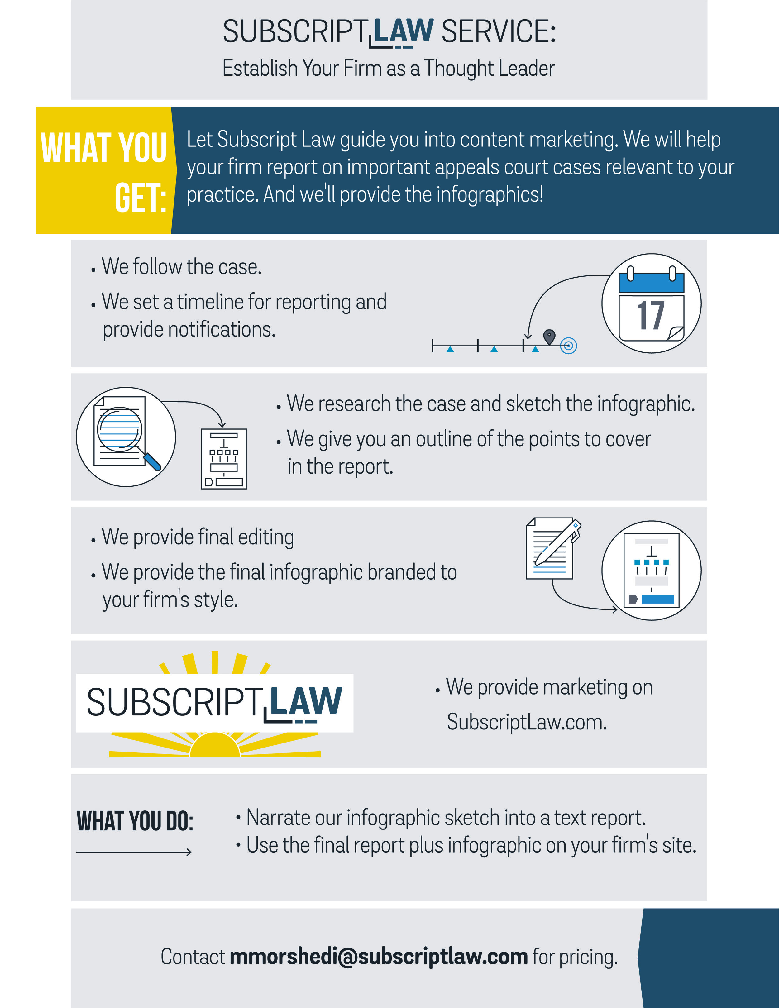 Flyer - Legal Marketing