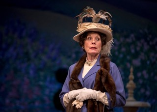 AFTER: Alison Edwards as Lady Bracknell in Rochester.