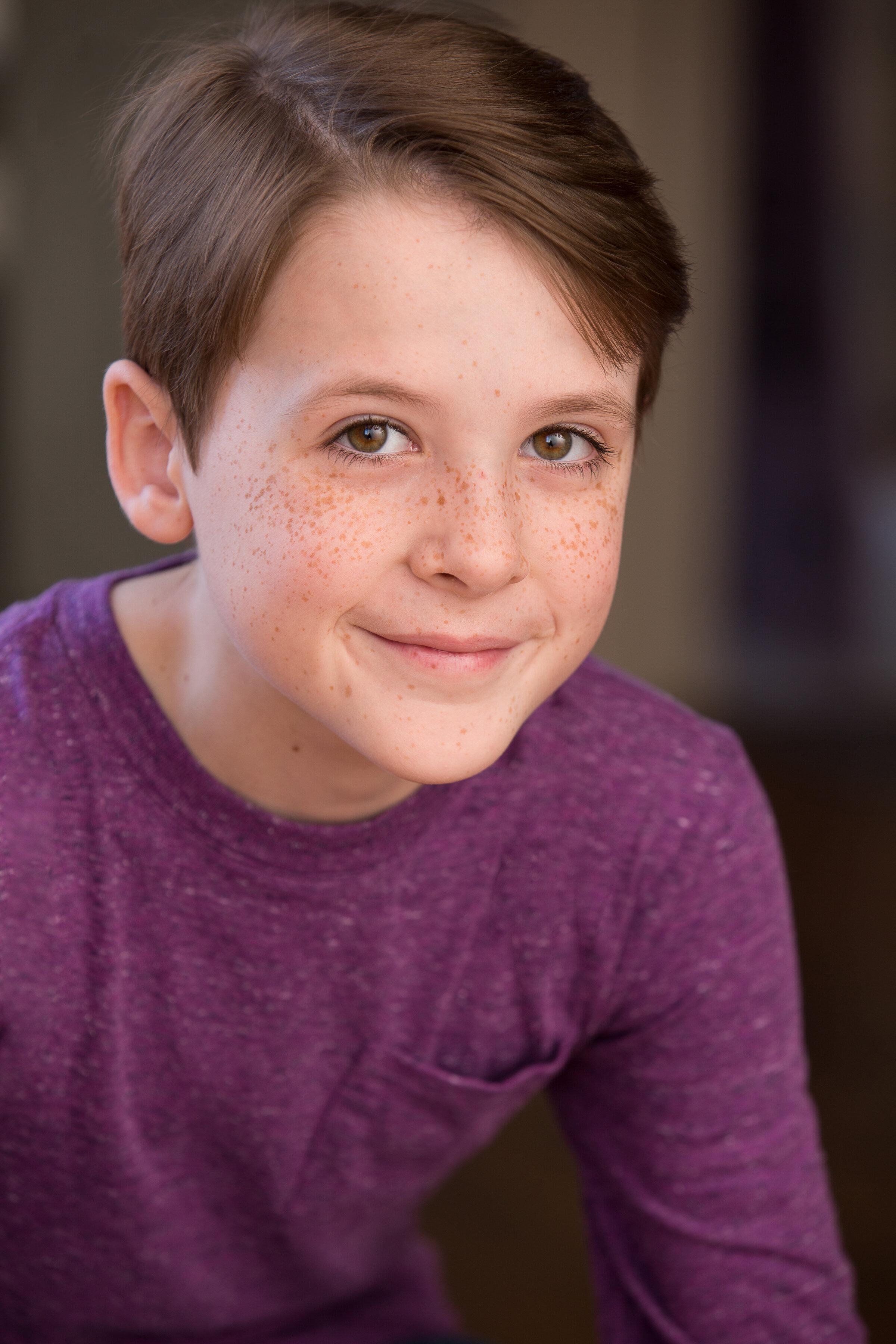 LIAM BECK-O'SULLIVAN Ethan Ferris (age 6)