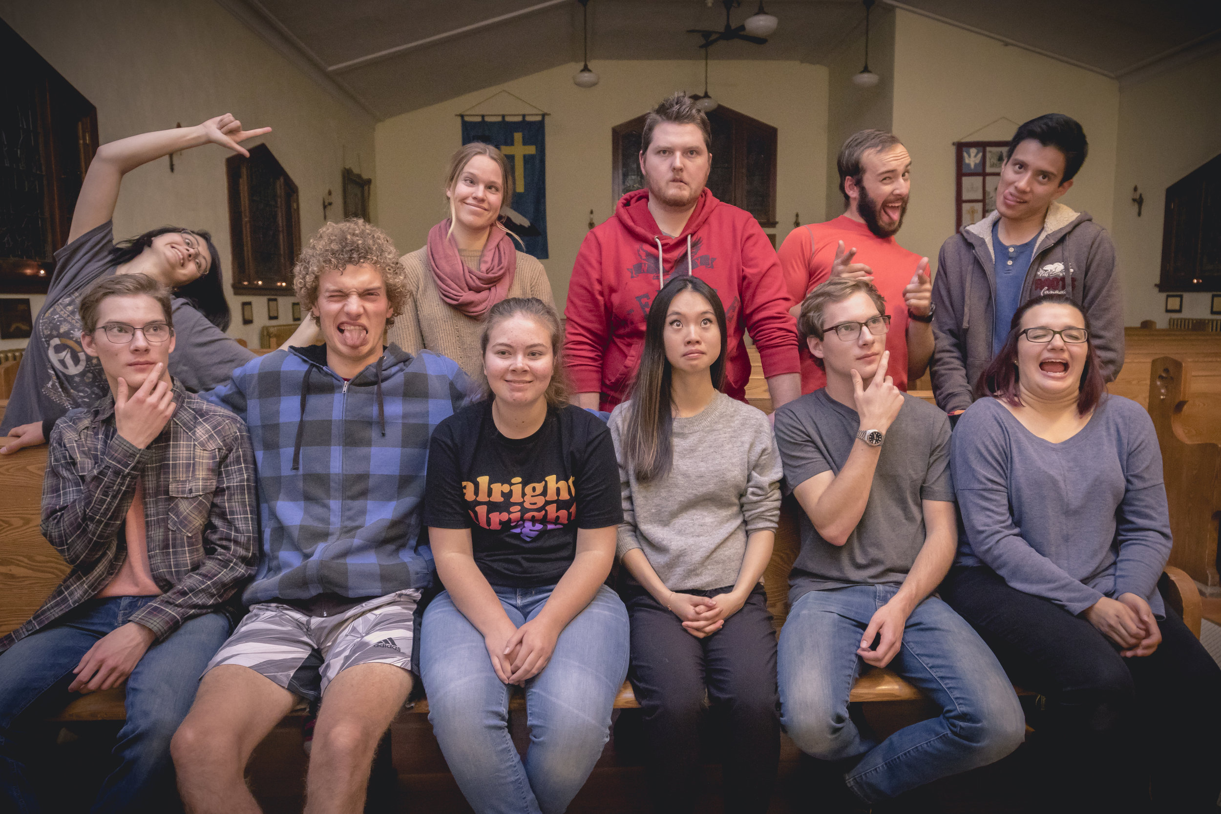 Goofy Peer Partnership Program Group Shot Banff YYCCM