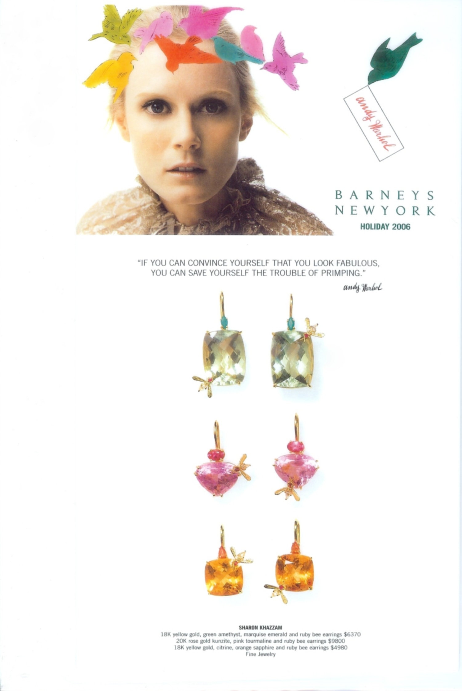 2006-Barneys Holiday Mailer- Bee's.jpg