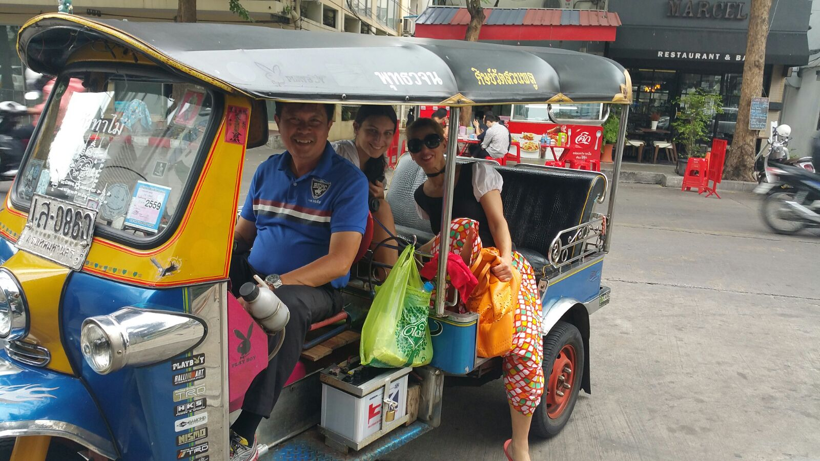 Our preferred method of transportation all throughout the country was the majestic tuk tuk.