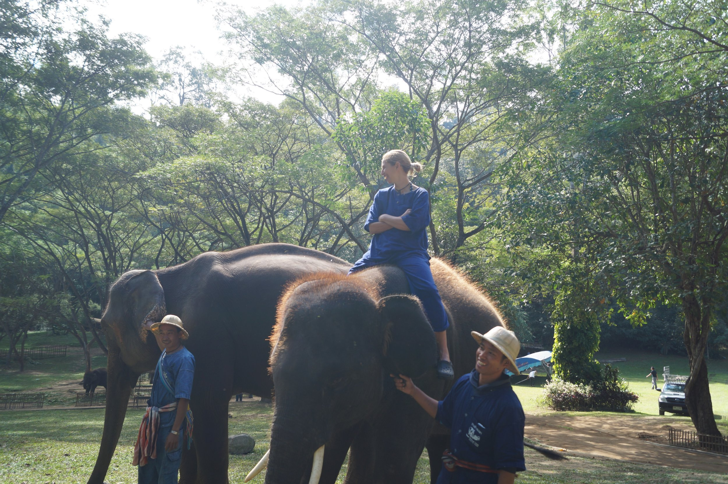 One of the greatest experiences in my life took place just outside the Northern city of Chiang Mai.