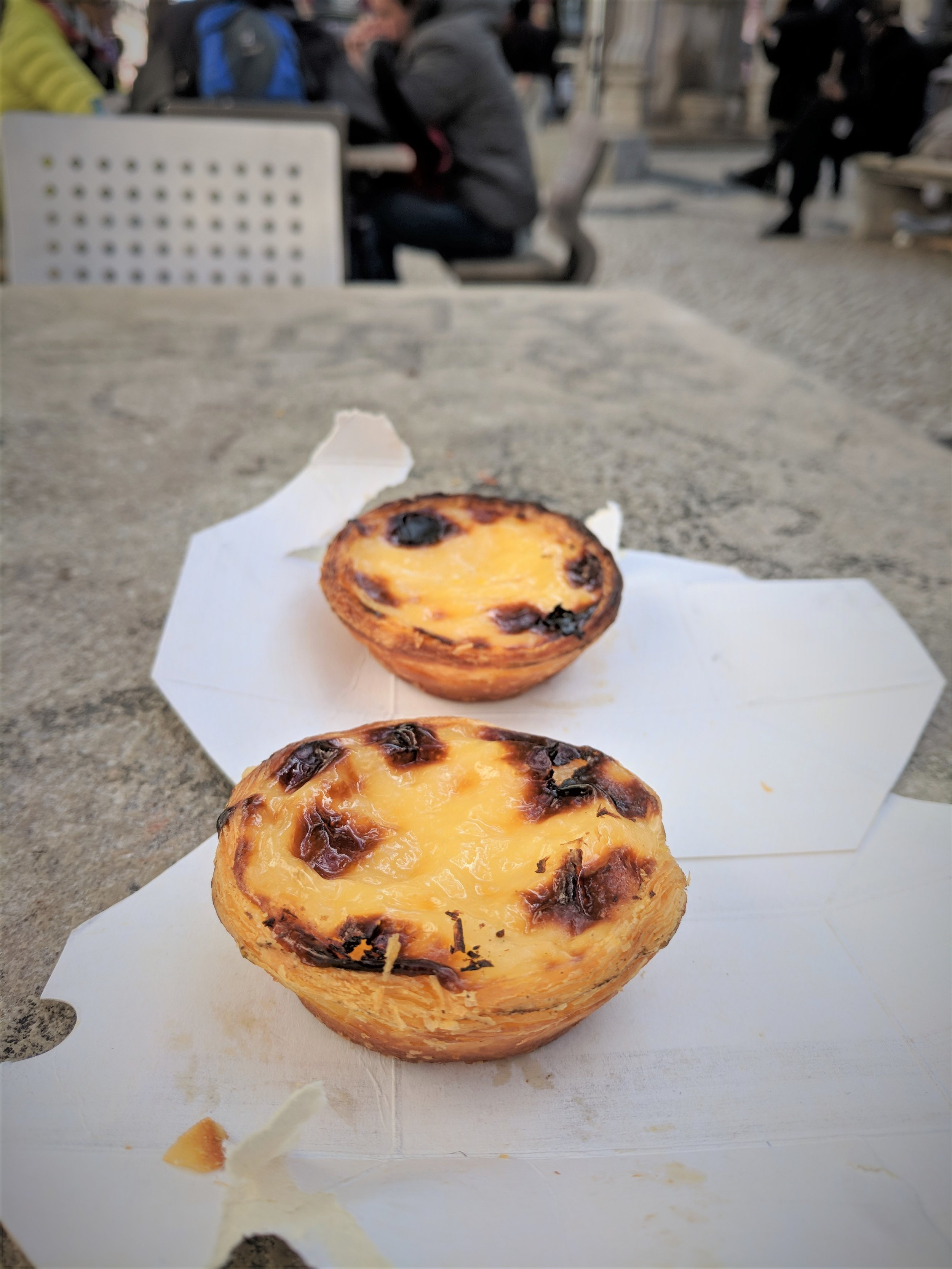 Pastel de nata - Portuguese custard tarts
