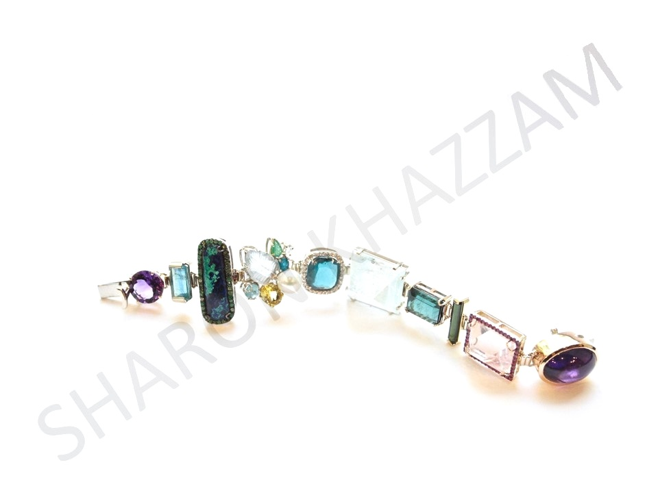 Aqua Trinket Bracelet