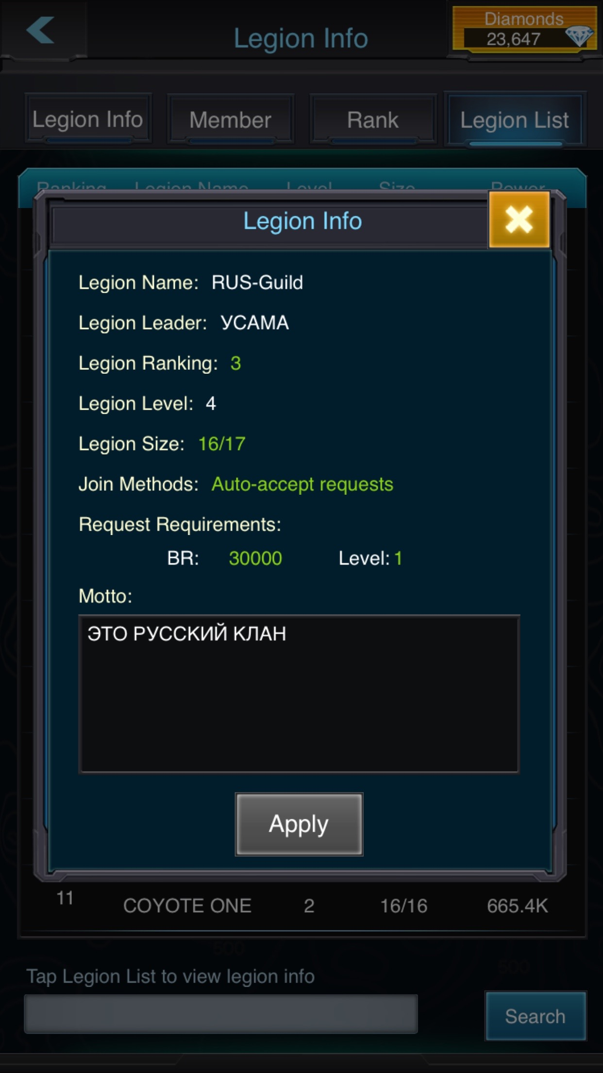RUS-Guild led by YCAMA is defiantly group of Russians that will not care cost to win this Server, they will take any commander just to get their mission done.