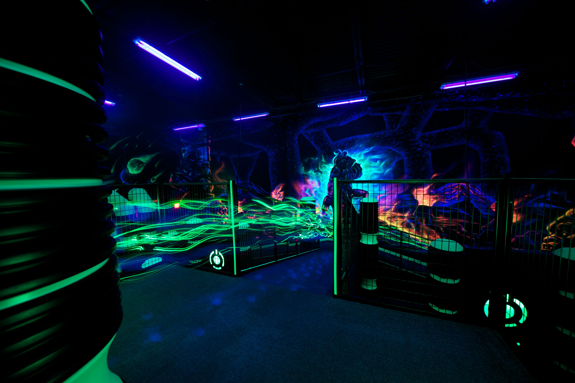 Heyday laser tag arena