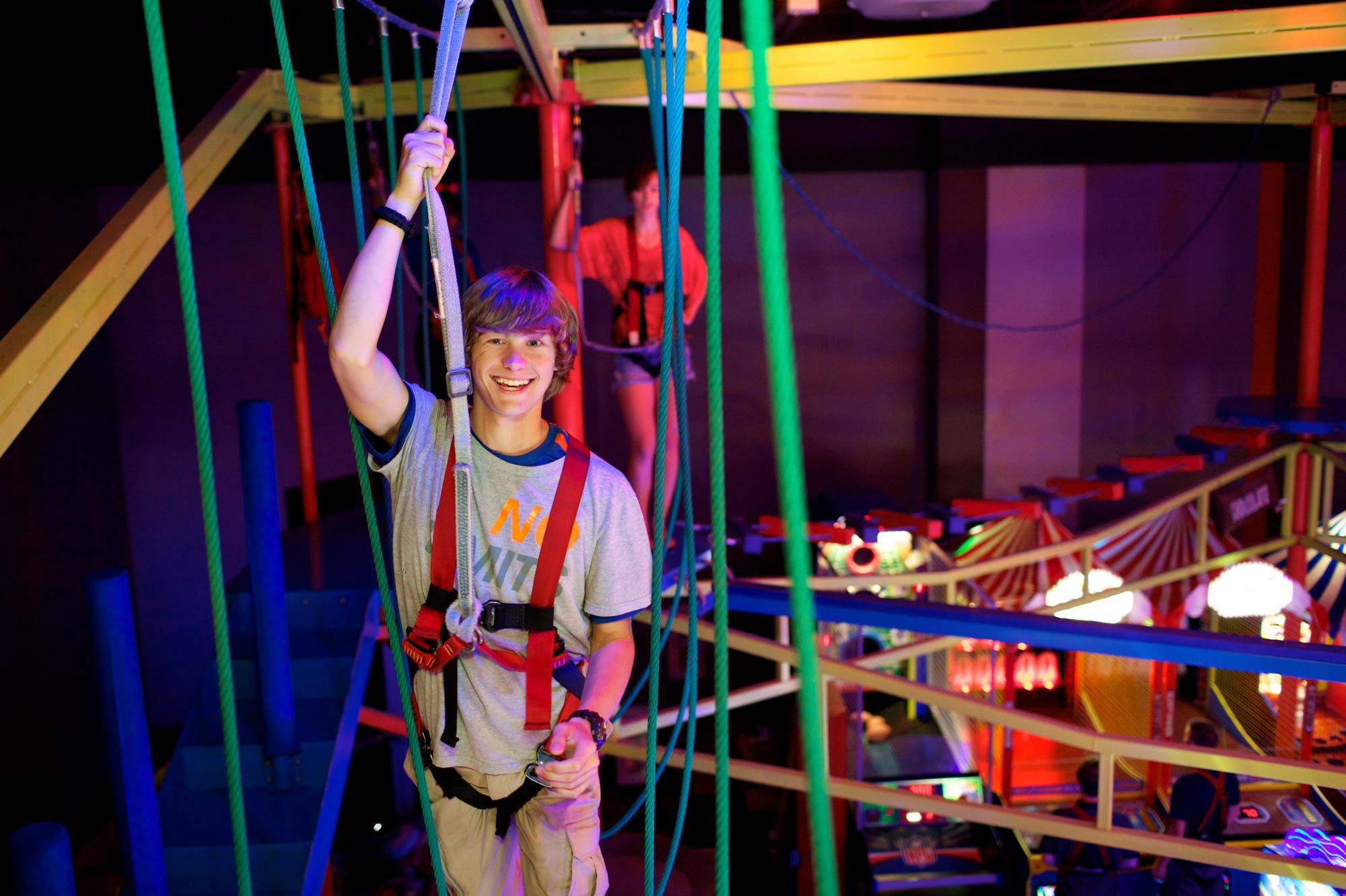 Copy of Ropes course for Teens