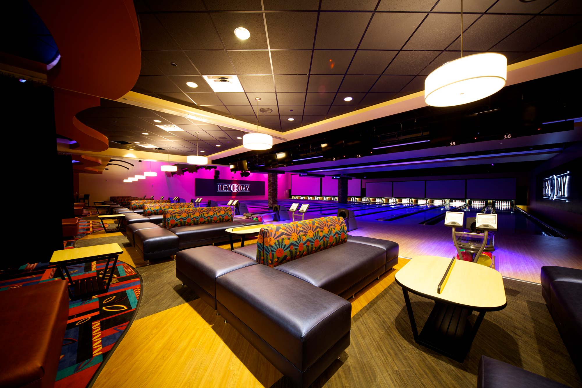 Lounge and bowling
