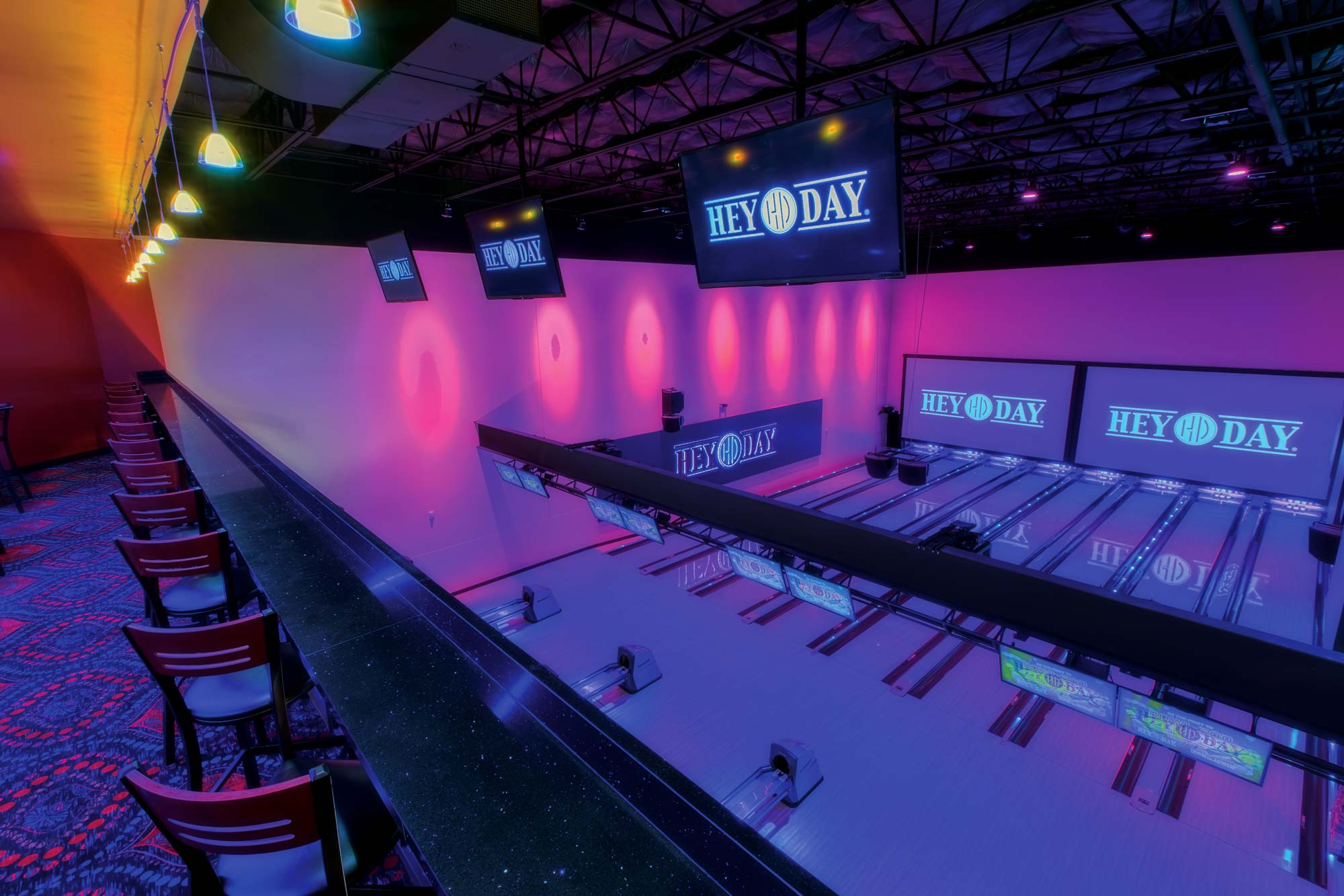 Private Bowling and Bar