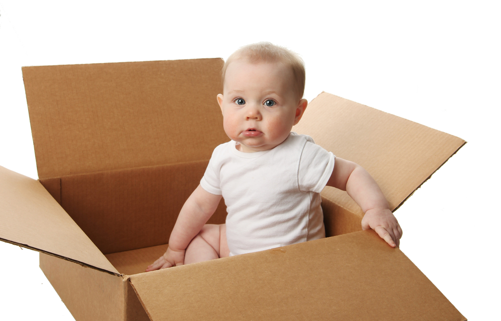 Moving with a baby