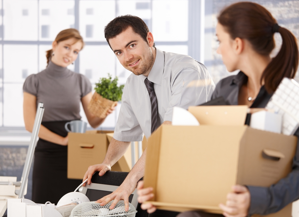 Young Professionals Moving Office Space in Chicago