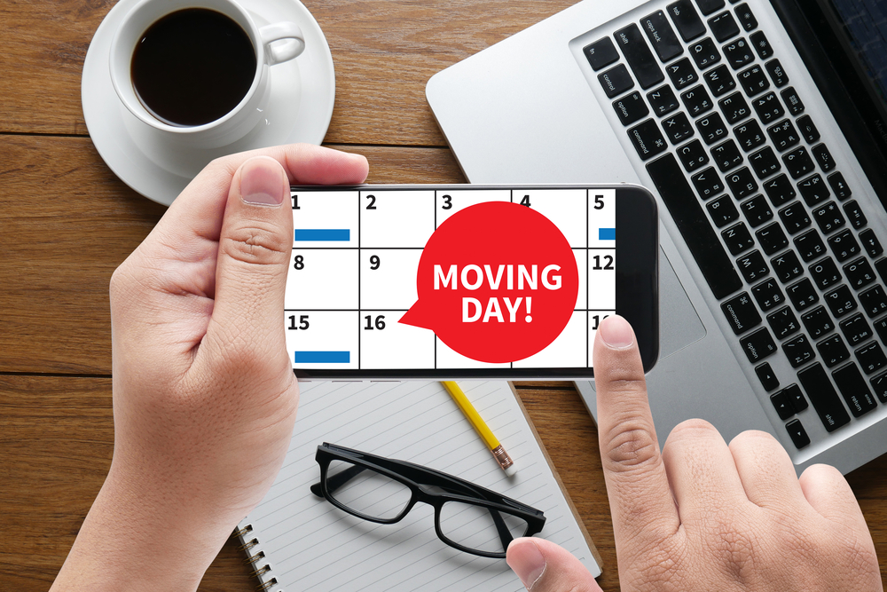 scheduling a move