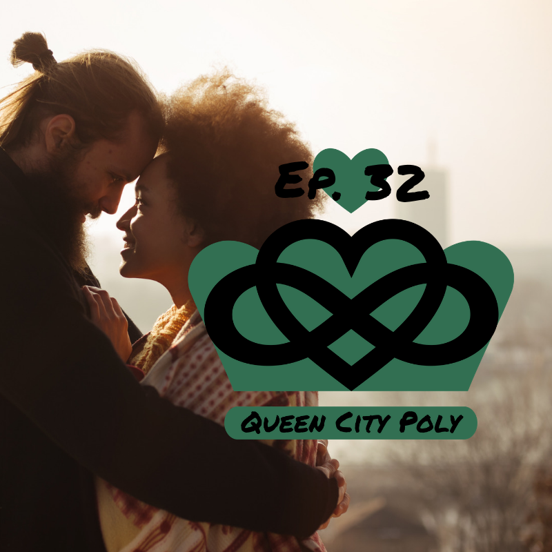 "Honeymoon Phase - In episode 32 of Queen City Poly, Coach Kay and Brian O'Neil discuss a viral tweet from November 2018 that continues to be circulated which states, states, ""The honeymoon phase doesn't exist when you fall for someone who is dedicated to making you feel loved and admired the ENTIRE time you're theirs. Stop normalizing the loss of affection in relationships, that is a choice, not a phase."" Check out episode 32 of Queen City Poly and listen in as we discuss this problematic pseudo advice for people seeking loving relationships. Find out what we think this quote gets right and what it gets wrong. What do you think? Does the honeymoon phase exist? Do we normalize the loss of affection in relationships?"