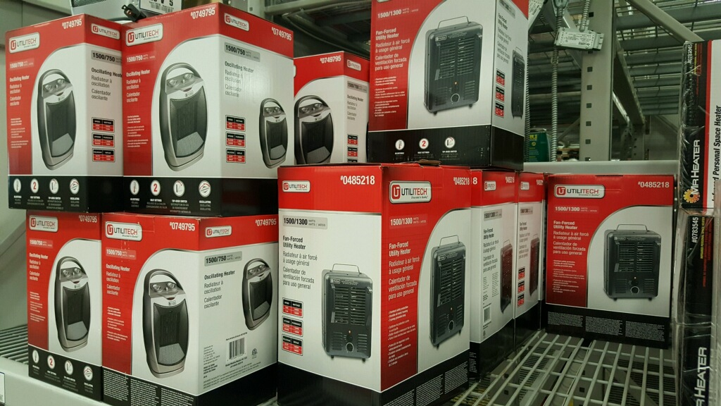 We'll Bring Space Heaters To YOU!