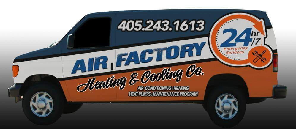 Air Factory Heating & Cooling Van