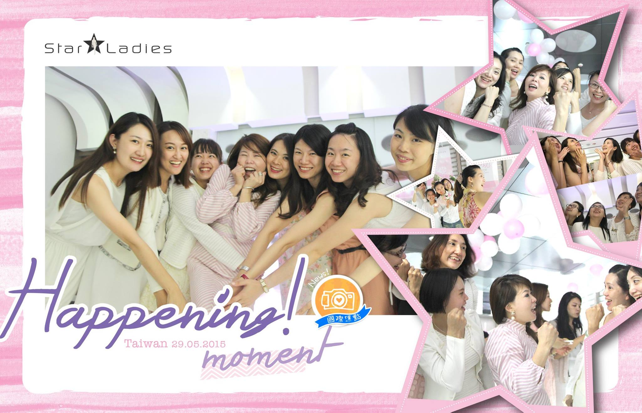 Wow!! Look and feel so happening from Taiwan StarLadies!   Let's look forward for our first meet with Stella too!