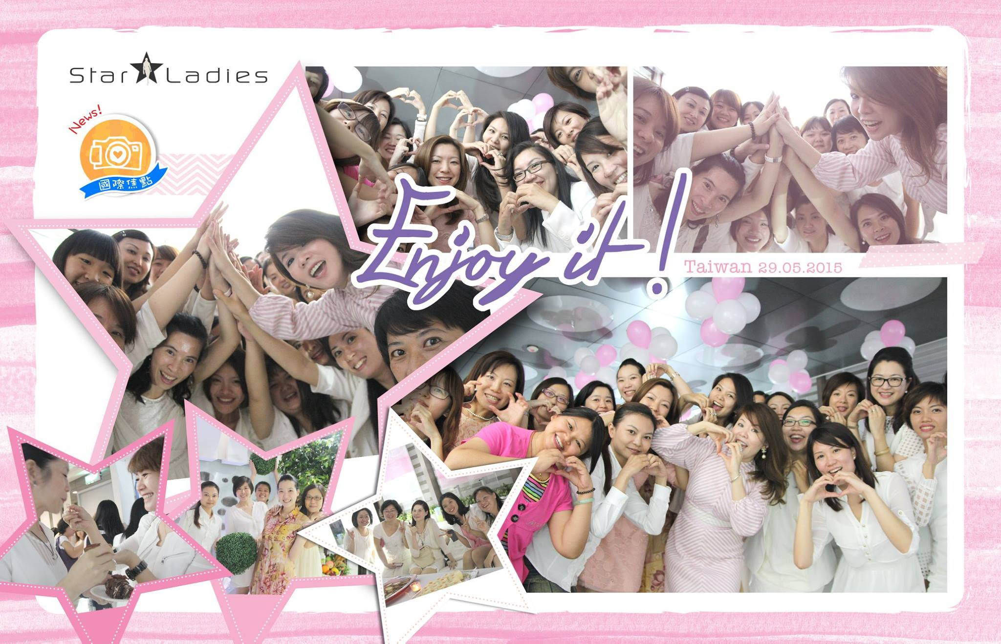 StarLadies Dearies, remember to face everyday with an right attitude~