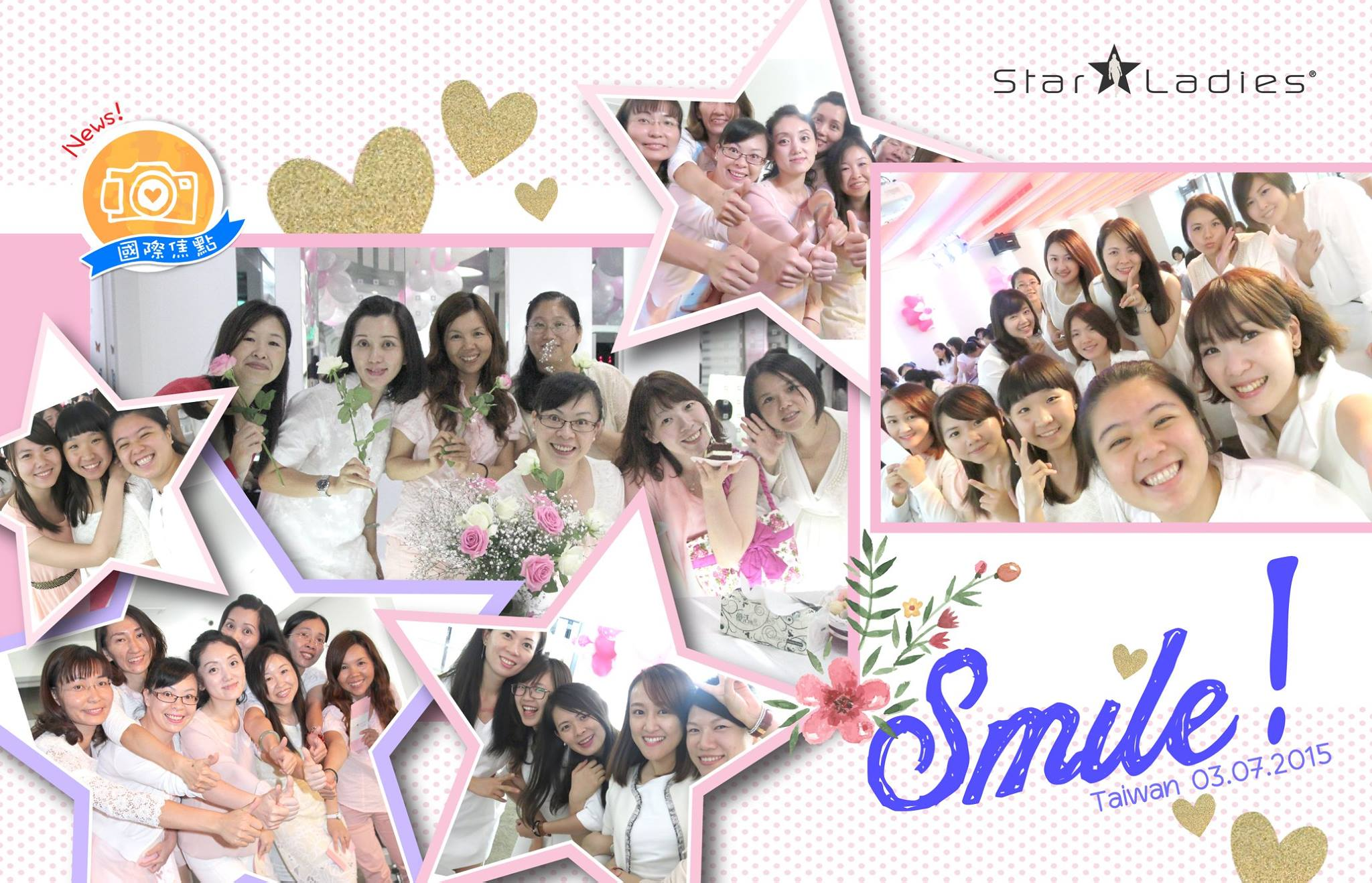 Some sharing from 3/7 Taiwan class, its about balancing your day with 8.8.8 principle~ Sisters in Malaysia, let's prepare our self and welcome the first class of StarLadies in Malaysia soon!