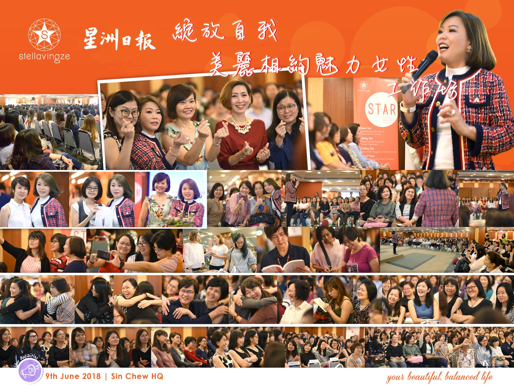 Success is not a Destination, but a Journey. It comes after numerous failures and challenges. Face it and overcome all obstacles with Truthfulness, Beauty and Kindness, you will shin bright like a diamond and star too!  Be a StarLadies and achieve your beautiful, balanced life in accordance to your life clock!   #StellavinzgeInternational  #SinChew  #SinChewDaily  #StarLadies  #BeautifulBalancedLife