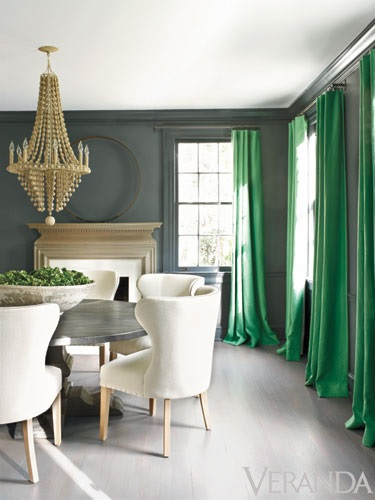 ... say yes to green lacquer and see our collage product list below - 1) Carson Overstreet Price Fine Art / / 2) Gold & Green Lacquer Etagere / / 3) F. Schumacher Twiggy Paperweave  / / 4) Empire Birch Parrot Green Ribbon Pillow / / 5) Lattice Lacquer Side Chair / / 6) Nesting Trays / / 7) Nara Nail Head Accent Table / / 8) Table Lamp / / 9) Jasper Square Jar / / 10) Echo Carpet Runner