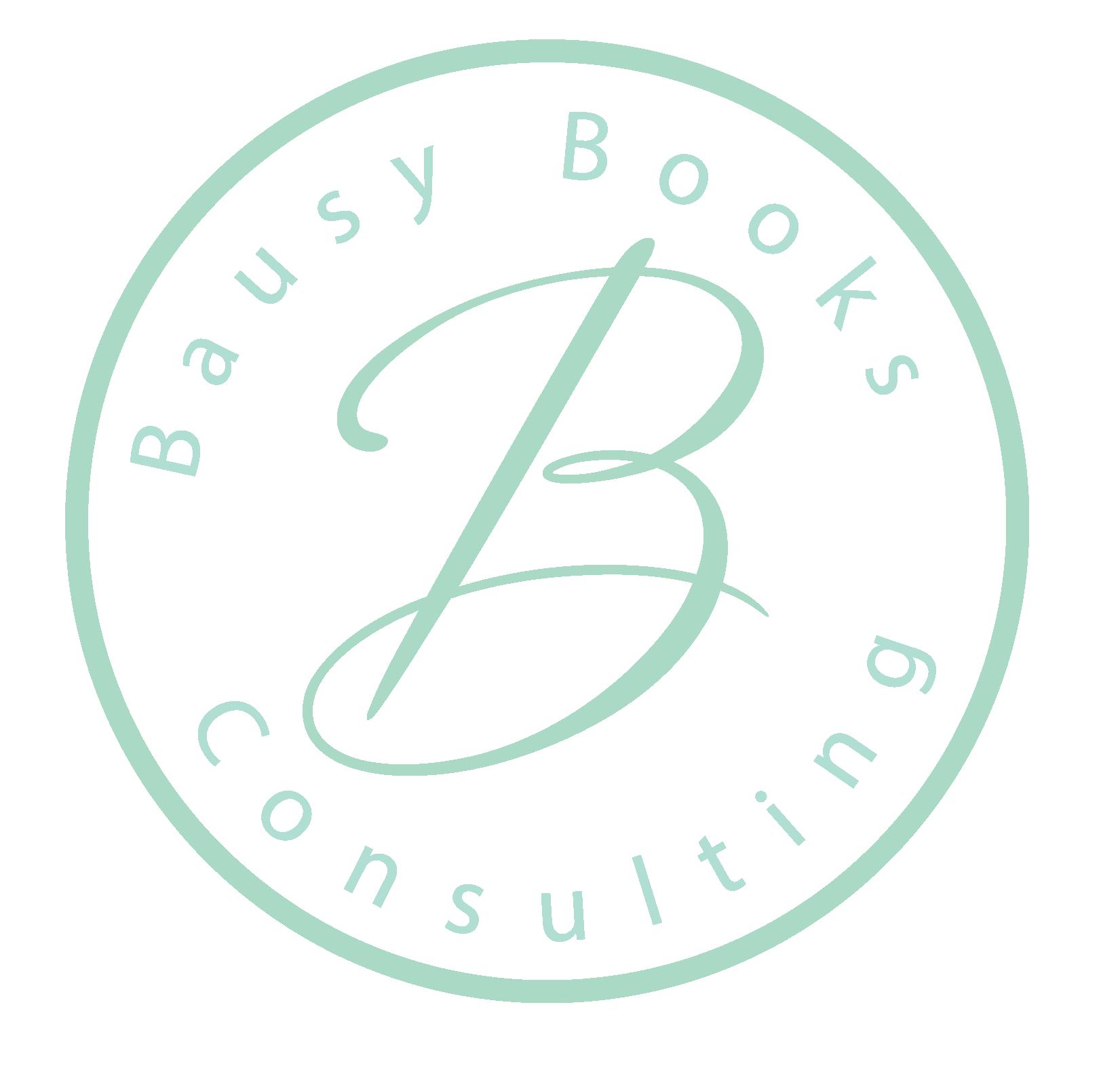 Bausy Books. Submark.tealArtboard 1.png