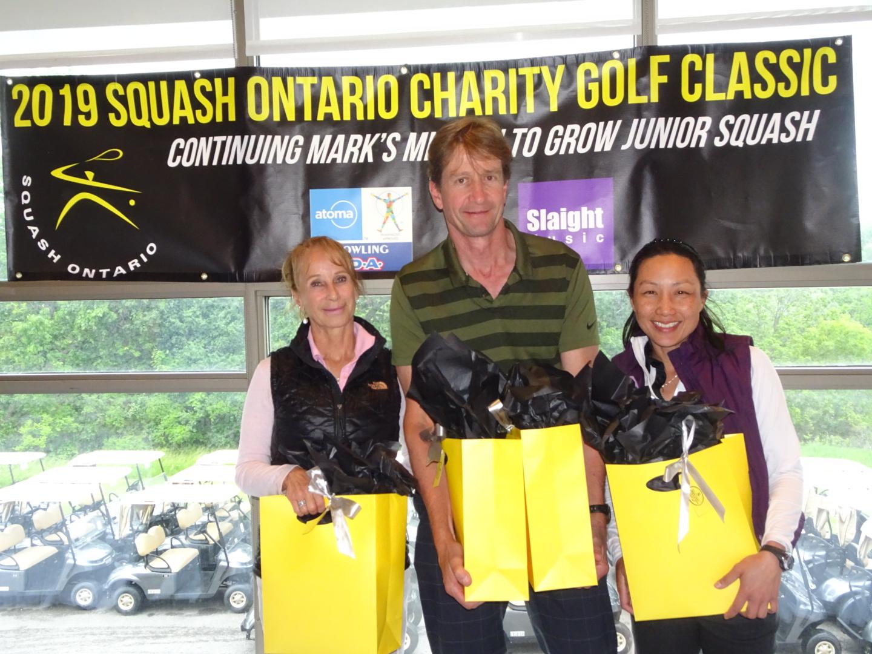 Mixed Division winners Toni Hickox, Joanna Phang, Karl Seger, and Stephen Blackadder