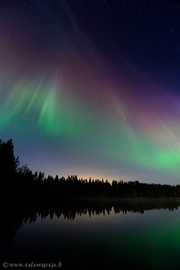 Aurora Borealis. Life Coaching. Learn to create your life as a beautiful, enjoyable journey.