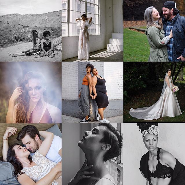 my actual top nine lacked diversity and wasn't very inspiring to me, so I made my own. these photos represent personally important photographic moments that mean more to me, and have influenced my direction in photography this year. as 2018 comes to a close, I can only hope to have an equally meaningful year with my camera in 2019. thank you to those that have trusted me with their important moments and their hearts.