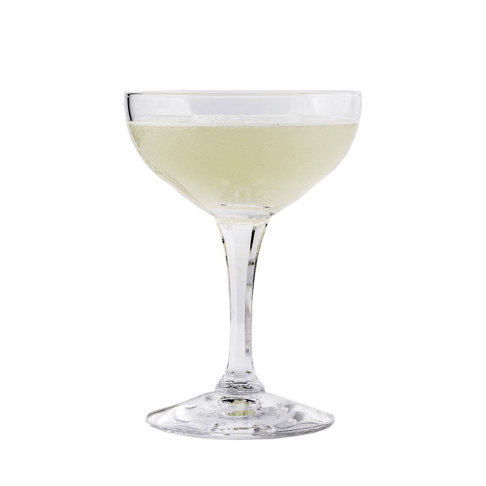 HOMER'S DAQUIRI - 1 part KLEOS Mastiha Spirit 1 part white rum1 part fresh lime juice1⁄2 part simple syrupShake all ingredients vigorously.Strain and serve up in a chilled coupette.Homer takes you on a virtual Odyssey with this version of the daquiri we think is an upgrade from Mr Hemingway's;)