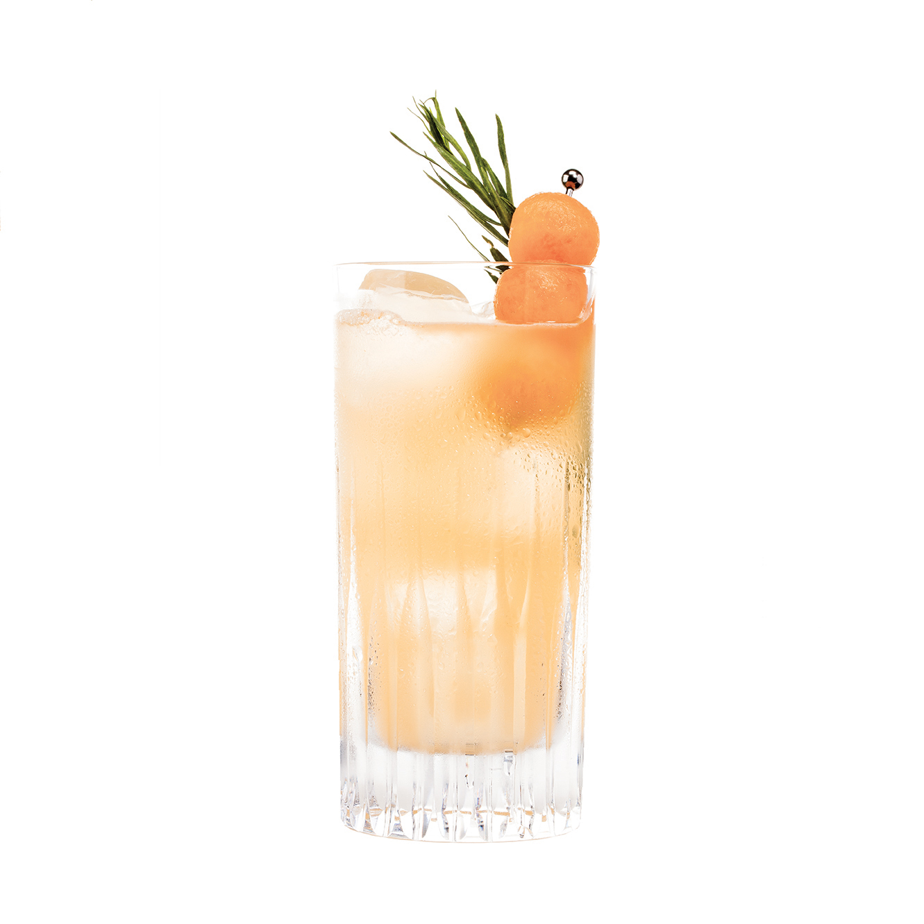 CAN'T ELOPE - 1 part KLEOS Mastiha Spirit1 part vodka1⁄2 part simple syrup1⁄4 part fresh lemon juice1⁄4 part fresh lime juice6 fresh tarragon leaves4 1-inch cubes of cantaloupeMuddle cantaloupe with tarragon.Shake all ingredients vigorously and double strain over ice into a highball glass.Garnish with a tarragon sprig and cantaloupe balls.                           When you're Greek-American, and you can't elope....but you can swig a few of these at your big fat Greek wedding. (Great frozen)