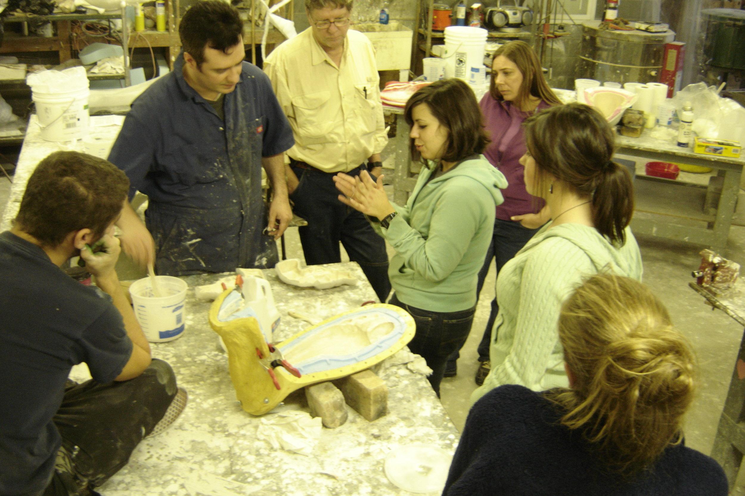 College of Charleston, Erik Geschke, visiting artist