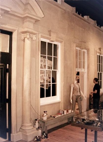 Thayer Smith, Architectural Arts Group, replica limestone facade, SoHo, NYC