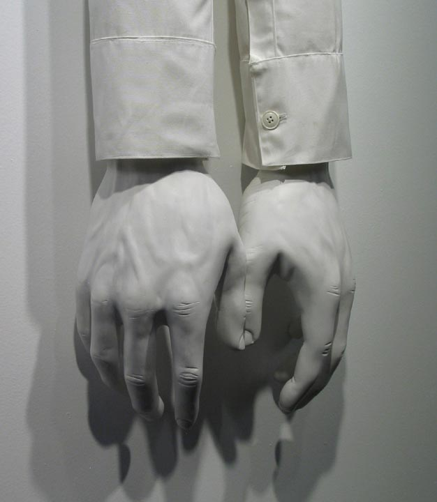 Erik Geschke,  Touch (Ghost) , detail