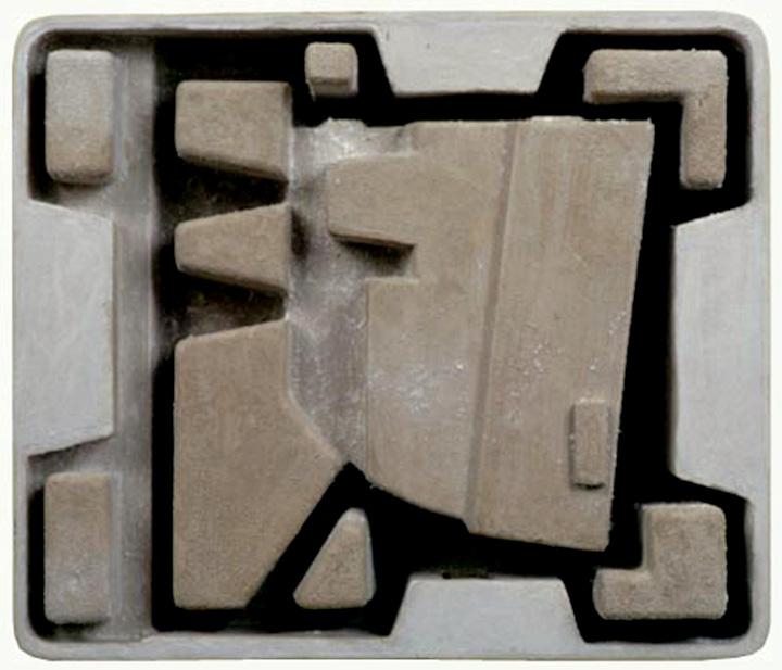 Steve Keister,  Untitled (Glyph) , 2000