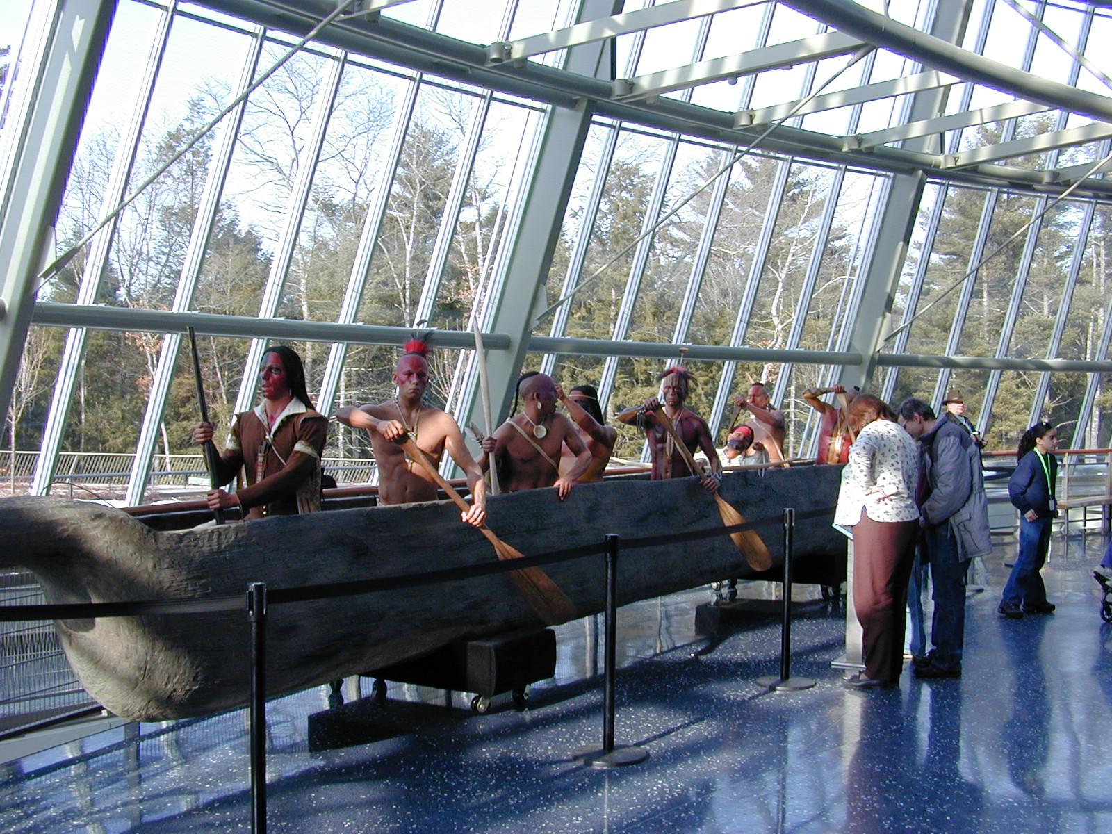 StudioEIS, Brooklyn, NY, Pequot Indian figures, Mashantucket Pequot Museum and Research Center